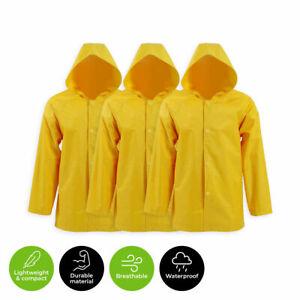 Lightweight 2PK/ 4PK Home Master® Raincoat Adult Full Length Thick Durable PVC
