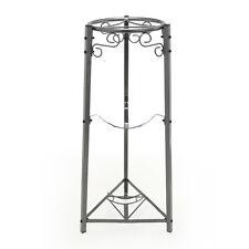 Goldwell Designs 3 Step Metal Floor Stand w/Bottle Storage - Dust Black (SM773)