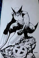 Wolverine-Original Art Sketch Commission - Jordan Gunderson