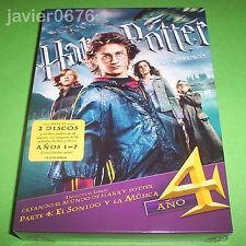 HARRY POTTER Y EL CALIZ DE FUEGO NUEVO Y PRECINTADO 2 DISCOS DVD + LIBRO