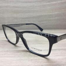Versace VE 3245 Eyeglasses Black Gunmetal 5238 Authentic 55mm