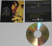 Bob Marley - Legend Remixed x4  - original U.S. promo cd