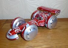 Fab F1 Racing / Drag Car Made of Recycled Coke Coca Cola Tin Cans