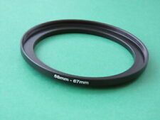 58mm-67mm Stepping Step Up Male-Female Lens Filter Ring Adapter 58mm-67mm
