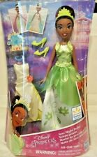 Disney Princess Tiana Doll Jazz Night Styles 2 Outfits Clothes Accessories New