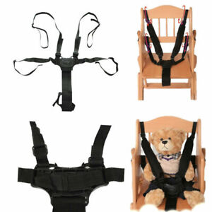 5 Point Car Belt Safe Strap Children Baby Buggy Stroller Harness High Chair Pram
