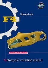 MV Agusta Service Chassis Manual 2003 F4 750 ORO,  F4 750 S & F4 750 S 1+1