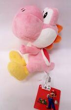 "Official NEW Pink Yoshi Plush 7"" Nintendo Super Mario Bros Stuffed Toy"