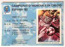 Cartolina Campionato Mondiale Di Calcio Espana 82 - I Calciatori Italiani So