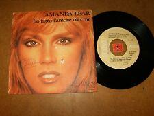 AMANDA LEAR - HO FATTO L'AMORE CON ME - DIAMONDS   / LISTEN - DISCO ITALIAN