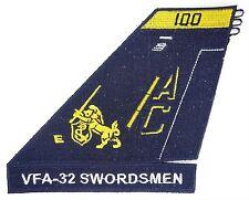 USN VFA-32 SWORDSMEN TAIL PATCH