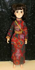 "Vintage 1972 Hasbro Aimee 18"" Fashion Doll w/ Original Dress~Twist Waist PRETTY"