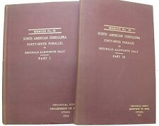 Geological Survey Mining Ottawa Canada 1912 Maps Cordillera 49th Parallel