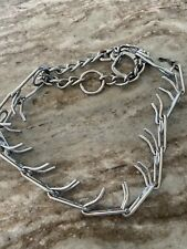 Pinch Prong Choker Dog Collar 26 inches Adjustable