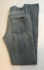 Women's SEVEN 7 FOR ALL MANKIND HIGH WAISTED JOYCE JEANS 28 X 31
