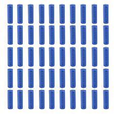 50 pcs AA 3000mAh Ni-MH 1.2V Rechargeable Battery Blue For Toy RC Solar Light