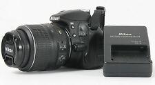 Nikon D3100 14.2 MP Digitalkamera KIT AF-S 18-55 mm G II ca.1060 Auslö v.Händler