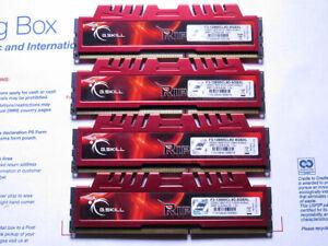 G. SKILL 16GB (4 x 4GB) PC3-12800 (DDR3-1600) Memory (F3-12800CL9D-8GBXL)