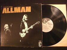 Duane & Gregg Allman - S/T - 1973 Vinyl 12'' Lp./ VG+/ Prog Blues Rock