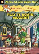 NEW - Geronimo Stilton Graphic Novels #8: Play It Again, Mozart!