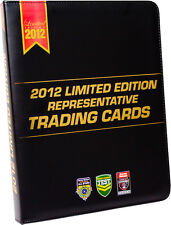 NRL 2012  RUGBY LEAGUE - Limited Edition Trading Cards Collector Album #NEW