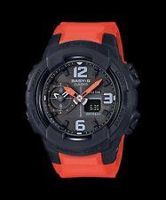 BGA-230-4B Black Casio Baby-G Ladies Watches Analog Digital Resin Band New