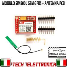 SIM800L quad-band gprs modulo gsm sim card + antenna per arduino