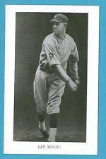 Ray Kremer (Pirates) Vintage Baseball Postcard With Name on Front GRN