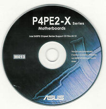 ASUS P4PE2-X Motherboard Drivers Installation Disk M413