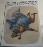 Advertising Film Cinema 21st La Rochelle 1993 Festival International - unposted