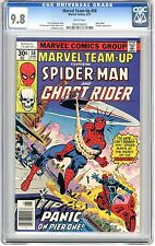 Marvel Team-Up #58 CGC 9.8  NMMT wht pgs Ghost Rider Team Up, Trapster App. 6/77