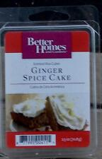 New Pack of Better Homes & Gardens Ginger Spice Cake Scented Wax Cubes
