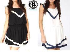 Viscose Short Sleeve Tunic Dresses Size Petite for Women
