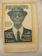 ROLLING STONE MUSIC NEWSPAPER DECEMBER 23RD 1971