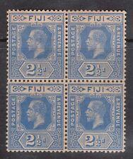 Fiji #83 NH Mint Block