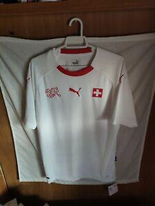 Nueva - New | Original | Camiseta futbol | Talla M | Seleccion de Suiza