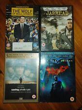 X4 DVD Bundle Wolf Of Wall Street Jarhead Saving Private Ryan The Dark Knight