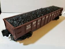 Lionel Western Maryland Gondola With Coal Load 0 & 027 Scale 6-19403