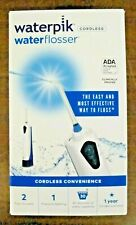 Waterpik Waterflosser Cordless Rechargeable WP-360W New  Free Shipping