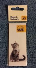 CATS PROTECTION MAGNETIC BOOKMARK - CURIOUS TABBY -NEW(SOLD FOR CATS PROTECTION)