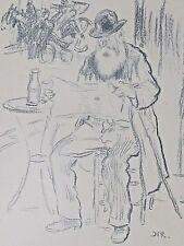 Raffaelli Jean-François  Un Grand Électeur  lithographie originale 1897