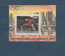 Niger  bloc jeux olympiques de Los Angeles   1984  num:  43  **