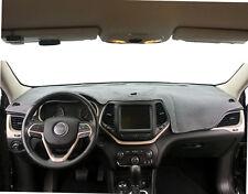 Jeep Compass 2007-2008 Gray Carpet Dash Board Dash Cover Mat Pad Custom JE6-0