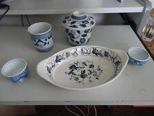 Japanese Blue & White Porcelain (mixed lot)