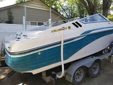 1995 Celebrity 24 ft boat with dual axel trailer