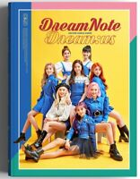 K-POP DreamNote 2nd Single Album - [Dream:us] CD+Photobook+4p Photocard Sealed
