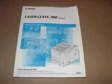 Canon Laser Class 700 Reference Manual OEM Genuine