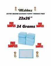 """150 23x36""""-Quilted Top 4-Layer Puppy Dog Training Pee Piddle Pads Extra Large"""