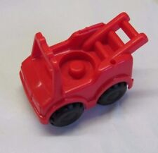 Fisher Price Little People RED FIREMAN'S FIRETRUCK Fire Man Truck with LADDER