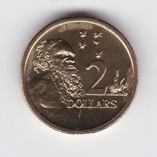 2012 Australia $2 Two Dollar Aboriginal Elder UNC Uncirculated Coin ex UNC Set